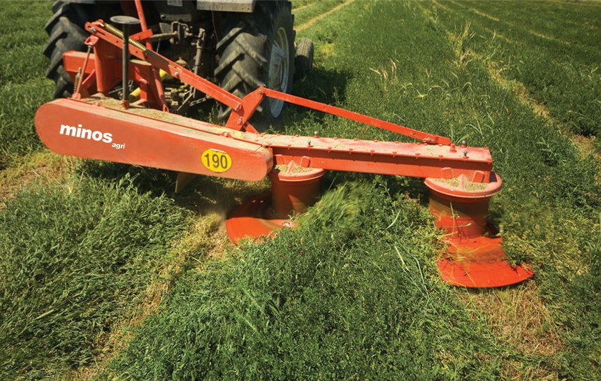 carines merchandise farmtech rotary drum mower -1