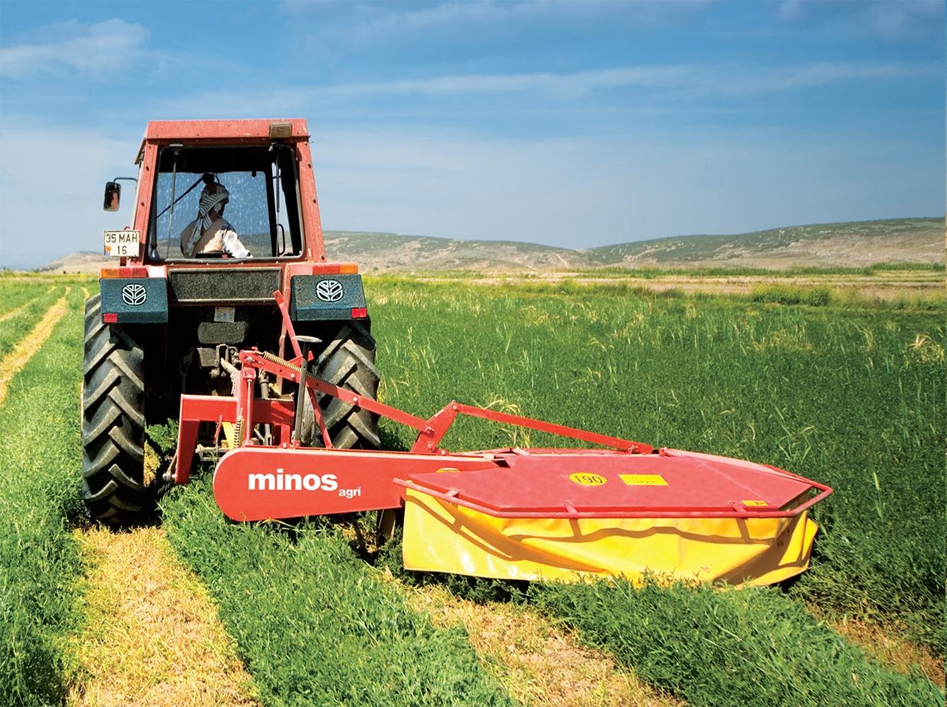carine's merchandise farmtech rotary drum mower