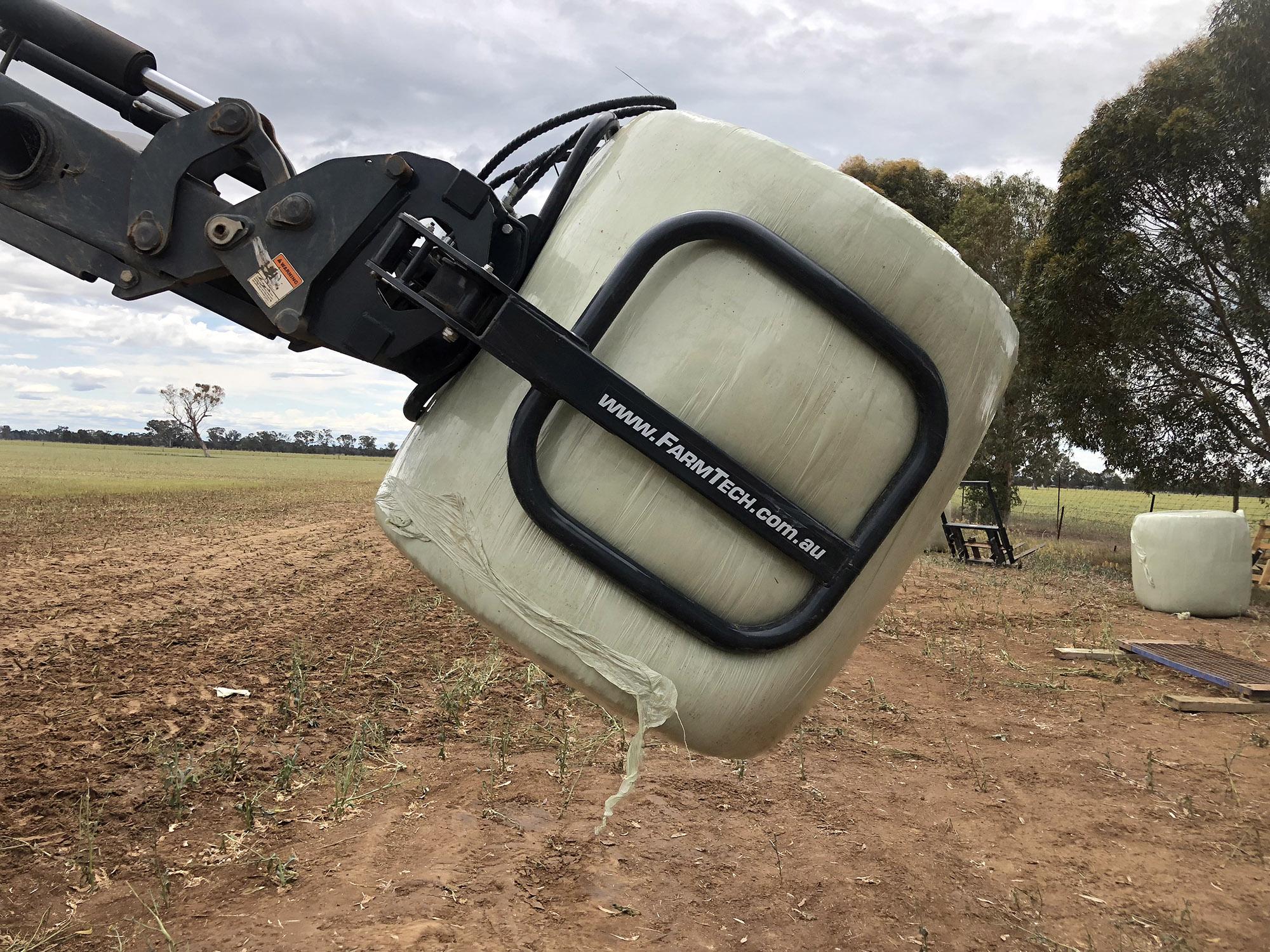 FarmTech SH-90BG Round Bale Grab